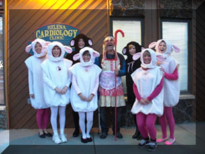 Halloween 2013-Little Bo Peep and her Sheep